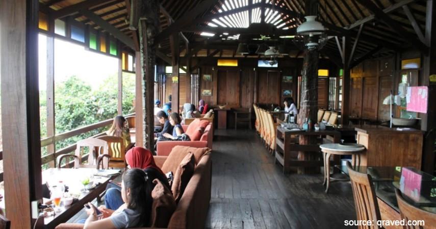 Lisung Resto The Dago Boutique Resto - 10 Tempat Makan Romantis di Bandung Murah Mulai 50 Ribu-an