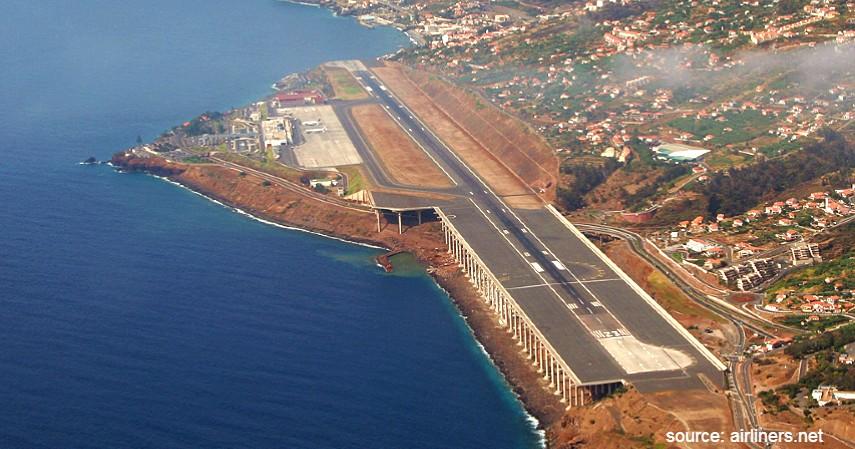Madeira Airport Portugal - Mengulas Lengkap 7 Bandara Paling Berbahaya di Dunia