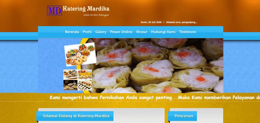Mardika Catering - 5 Vendor Catering Terbaik di Jakarta 2020 Harga Murah Terpercaya
