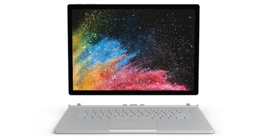 Microsoft Surface Book 2 - 7 Laptop Desain Grafis Terbaik 2020 Harga dan Spesifikasinya