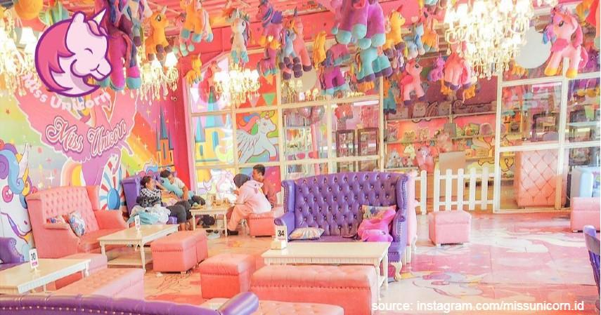 Miss Unicorn Cafe - 7 Alamat Wisata Kuliner di Jakarta yang Ramah Anak