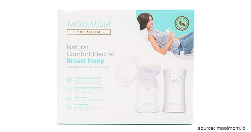 Mooimom Natural Comfort Electric Breast Pump - Deretan Pompa ASI Elektrik Terbaik