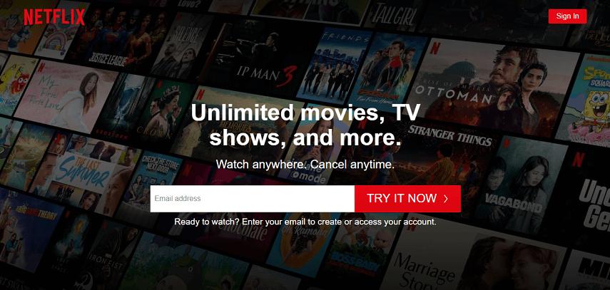 Netflix - Website Nonton Anime Sub Indonesia Terbaik Sepanjang Masa