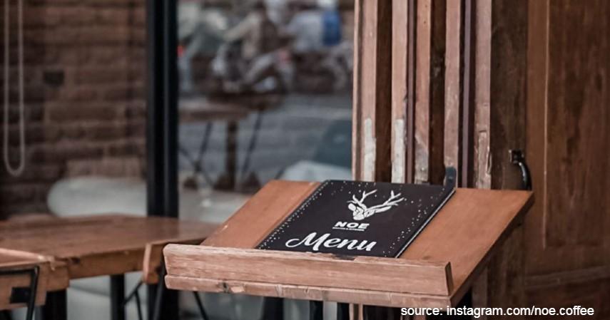 Noe Coffee and Kitchen - Tempat Ngopi Terbaik Di Yogyakarta Untuk Pecinta Kopi
