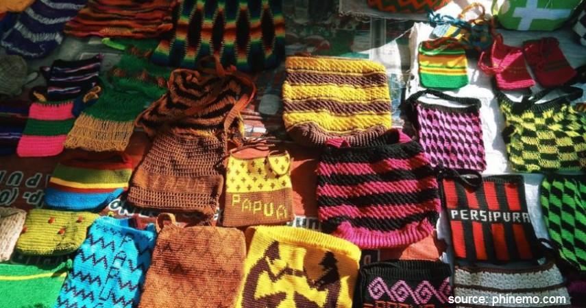 Noken - Warisan Budaya Asli Indonesia yang Diakui UNESCO Selain Borobudur