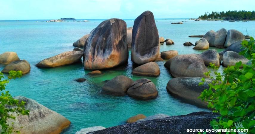 Pantai Cemaga - Wisata ke Natuna Kunjungi Tempat Keren Ini