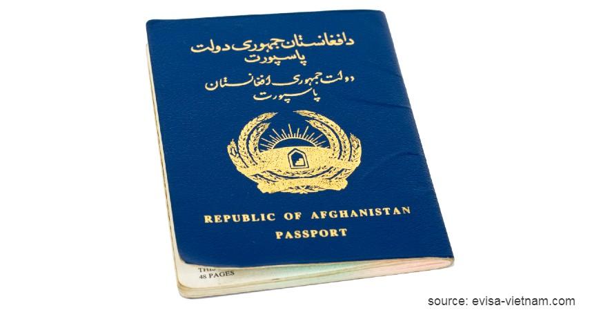 Paspor Afghanistan dengan 26 negara - Paspor Terkuat dan Terlemah di Dunia Tahun 2020