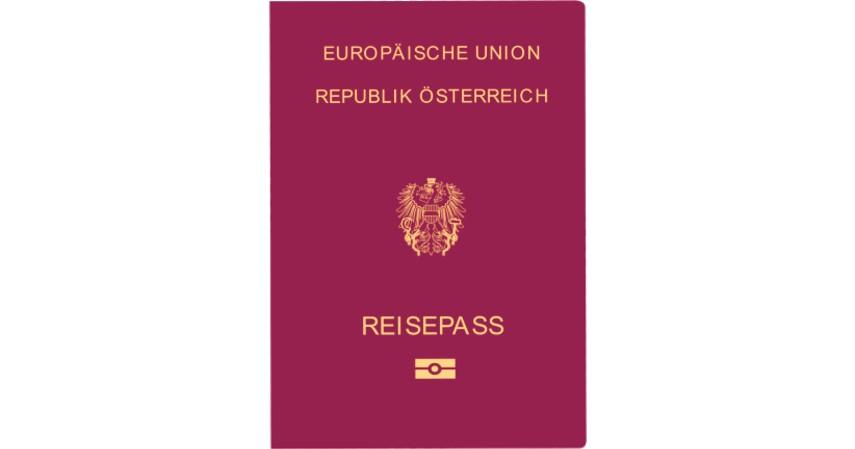 Paspor Austria dengan 185 negara - Paspor Terkuat dan Terlemah di Dunia Tahun 2020