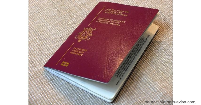 Paspor Belgia dengan 184 negara