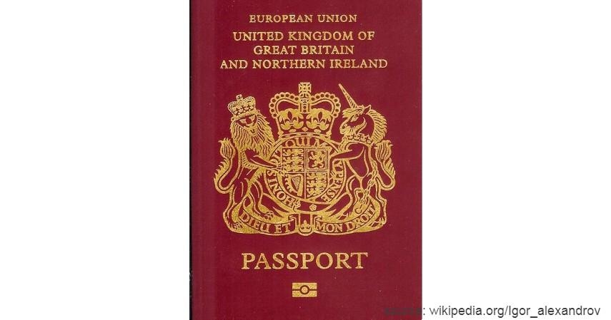Paspor Britania Raya dengan 184 negara