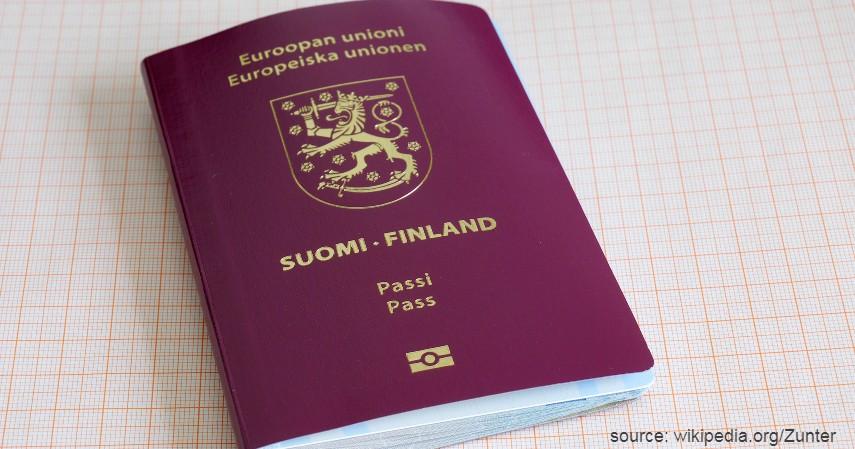 Paspor Finlandia dengan 188 negara - Paspor Terkuat dan Terlemah di Dunia Tahun 2020