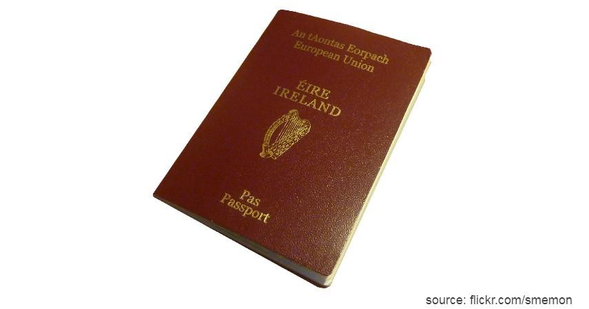 Paspor Irlandia dengan 185 negara - Paspor Terkuat dan Terlemah di Dunia Tahun 2020