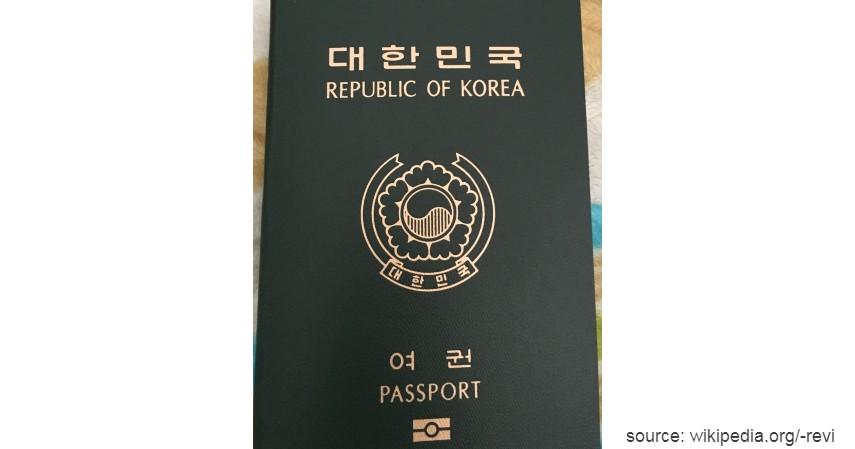 Paspor Korea Selatan dengan 189 negara - Paspor Terkuat dan Terlemah di Dunia Tahun 2020