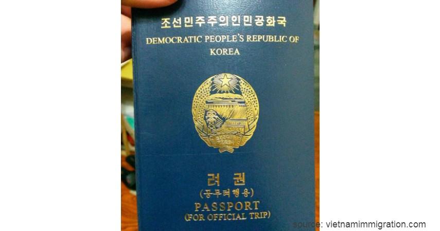Paspor Korea Utara dengan 39 negara - Paspor Terkuat dan Terlemah di Dunia Tahun 2020