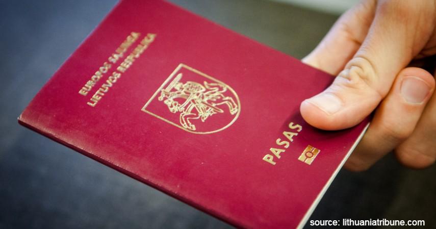 Paspor Lithuania dengan 181 negara - Paspor Terkuat dan Terlemah di Dunia Tahun 2020