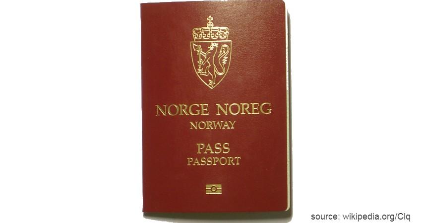 Paspor Norwegia dengan 184 negara - Paspor Terkuat dan Terlemah di Dunia Tahun 2020
