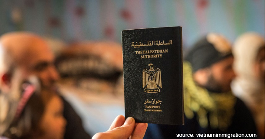 Paspor Palestina dengan 38 negara - Paspor Terkuat dan Terlemah di Dunia Tahun 2020