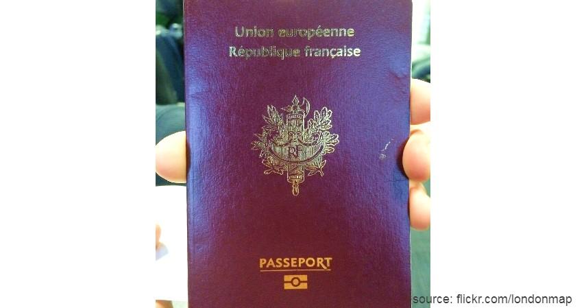 Paspor Prancis dengan 186 negara - Paspor Terkuat dan Terlemah di Dunia Tahun 2020