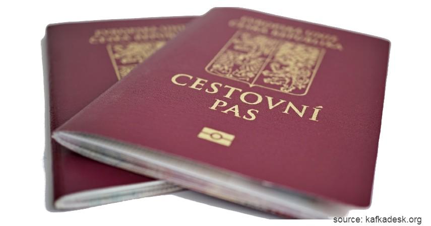 Paspor Republik Ceko dengan 183 negara - Paspor Terkuat dan Terlemah di Dunia Tahun 2020