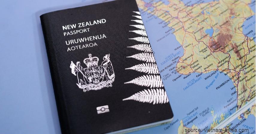 Paspor Selandia Baru dengan 183 negara - Paspor Terkuat dan Terlemah di Dunia Tahun 2020