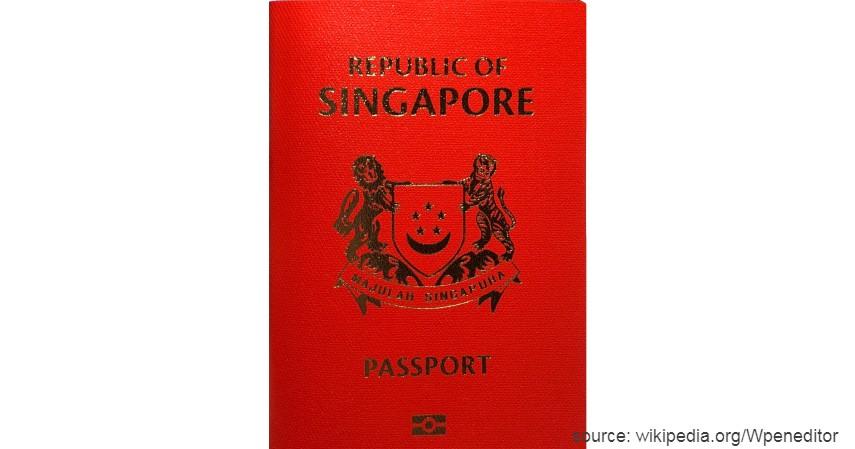 Paspor Singapura dengan 190 negara - Paspor Terkuat dan Terlemah di Dunia Tahun 2020