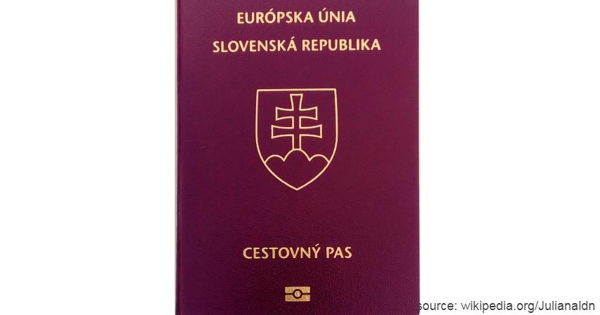 Paspor Slovakia dengan 181 negara - Paspor Terkuat dan Terlemah di Dunia Tahun 2020