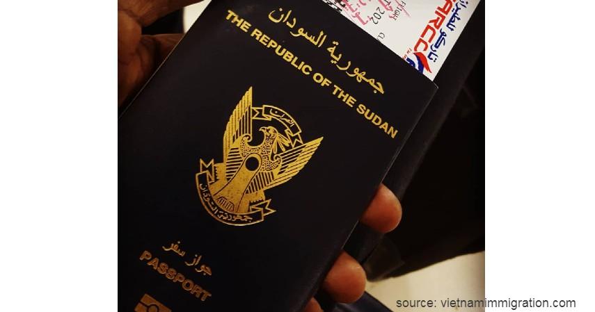 Paspor Sudan dengan 39 negara - Paspor Terkuat dan Terlemah di Dunia Tahun 2020