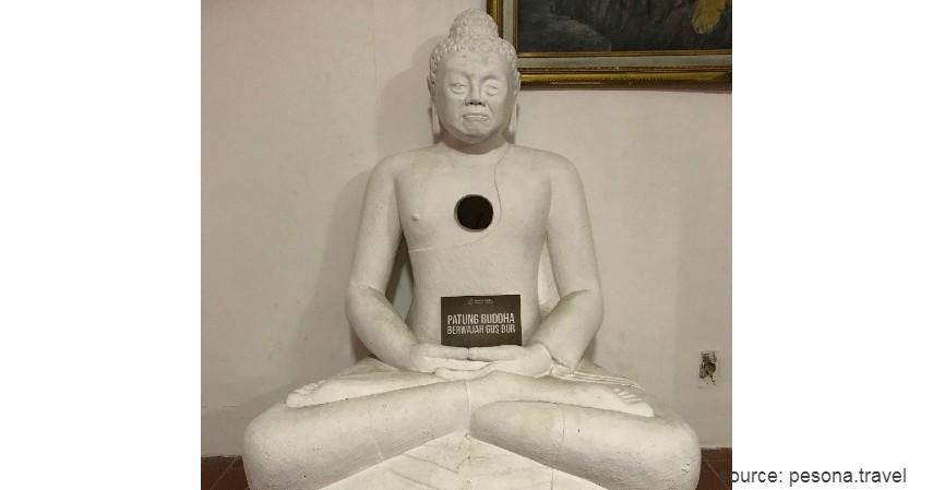 Patung Gus Dur - Selain Gajah Mungkur Ini Sederet Patung Kontroversial di Indonesia