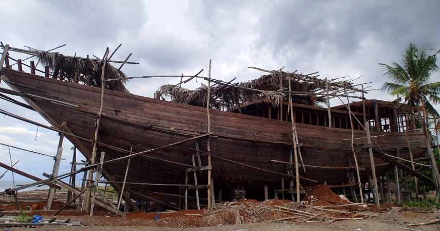 Perahu Pinisi Seni Pembuatan Kapal - Warisan Budaya Asli Indonesia yang Diakui UNESCO Selain Borobudur