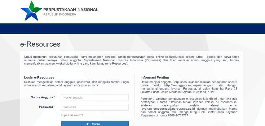 Perpustakaan Nasional RI - 10 Situs Jurnal untuk Skripsi bagi Kamu Para Pejuang Semester Akhir