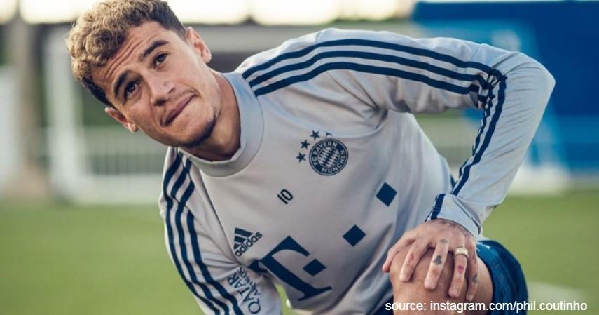 Philippe Coutinho - 11 Pesepakbola dengan Nilai Transfer Termahal di Dunia