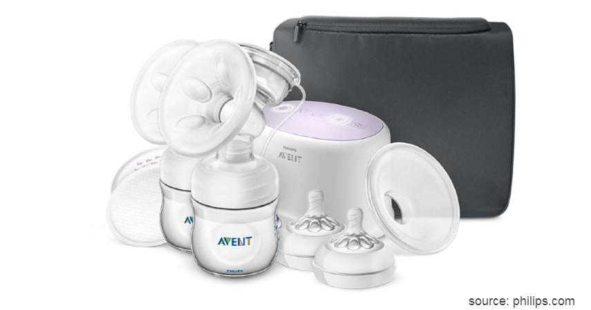 Philips Avent Comfort Twin Double Electric Breast Pump - Deretan Pompa ASI Elektrik Terbaik