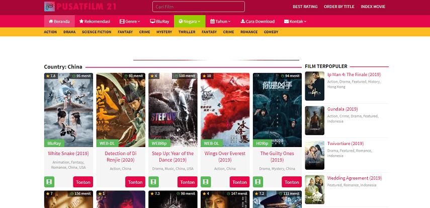 Pusatfilm21 - Situs Nonton Drama Mandarin Terbaru Sub Indo Gratis 2020