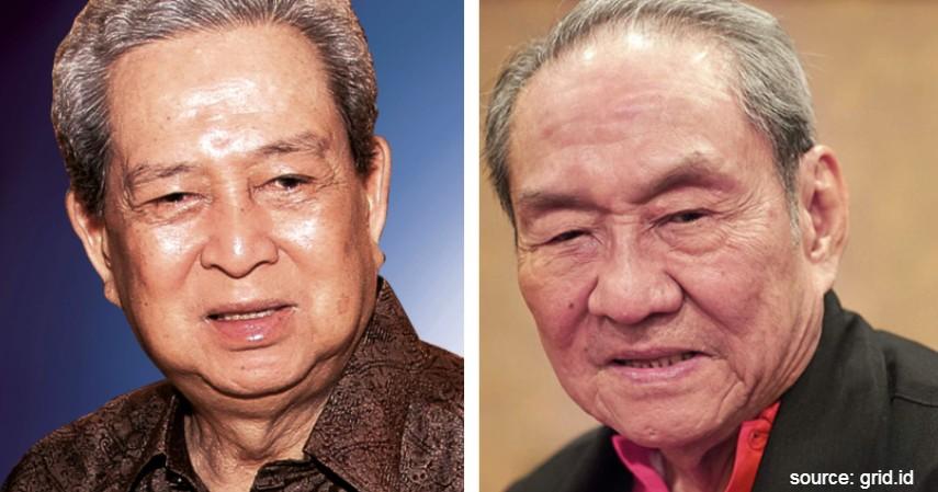 R Budi & Michael Hartono - Hartono Bersaudara - Orang Terkaya di Indonesia 2020 Prajogo Pangestu Naik 7 Peringkat