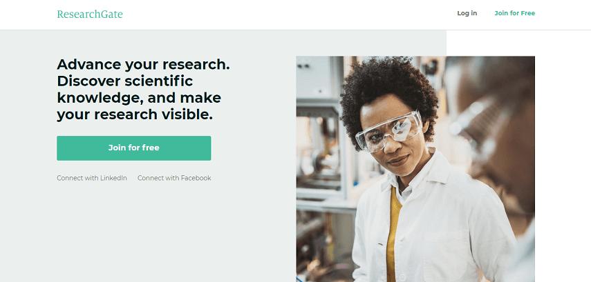 ResearchGate - 10 Situs Jurnal untuk Skripsi bagi Kamu Para Pejuang Semester Akhir