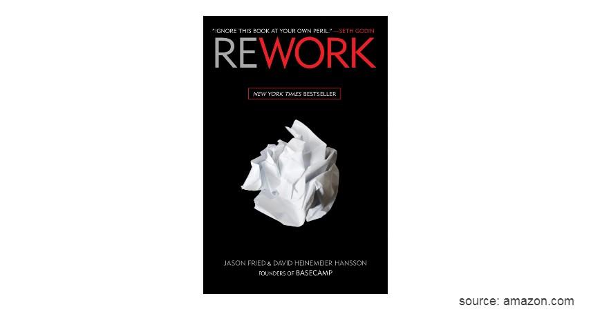 Rework - 6 Rekomendasi Buku Terbaik untuk Belajar Bisnis bagi Pemula