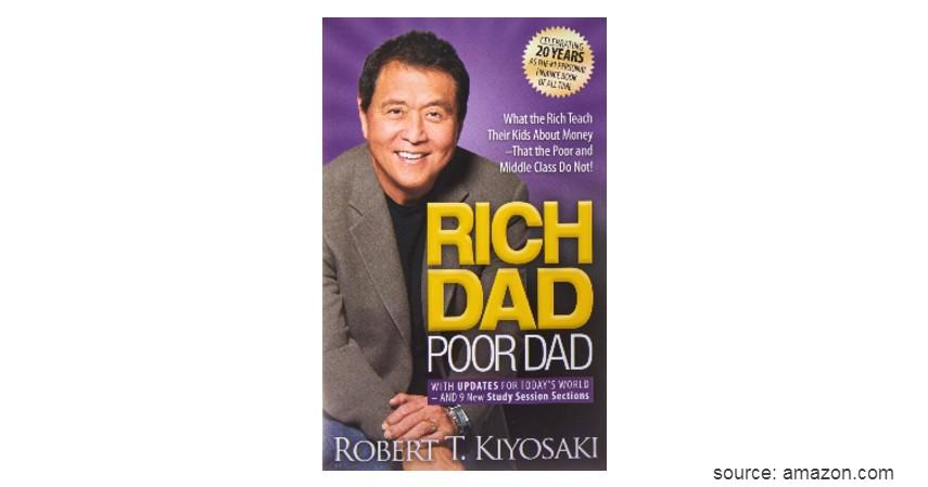 Rich Dad Poor Dad - 4 Rekomendasi Buku Motivasi Diri Terbaik Sepanjang Masa