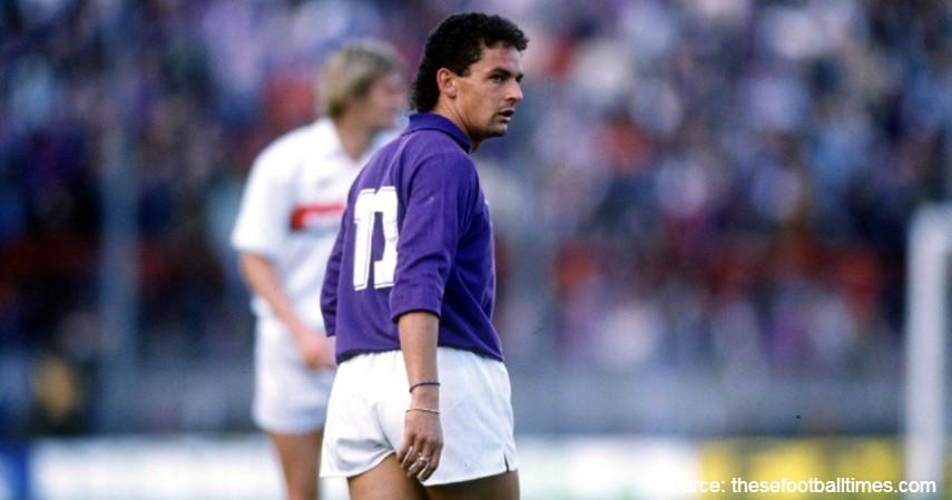 Roberto Baggio - 5 Pemain Muda Liga Italia Terbaik