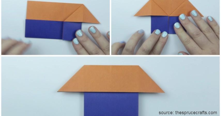 Rumah-rumahan dari Kertas Origami - Sederet Ide Mainan Edukasi Anak yang Asah Motorik dan Kreativitas