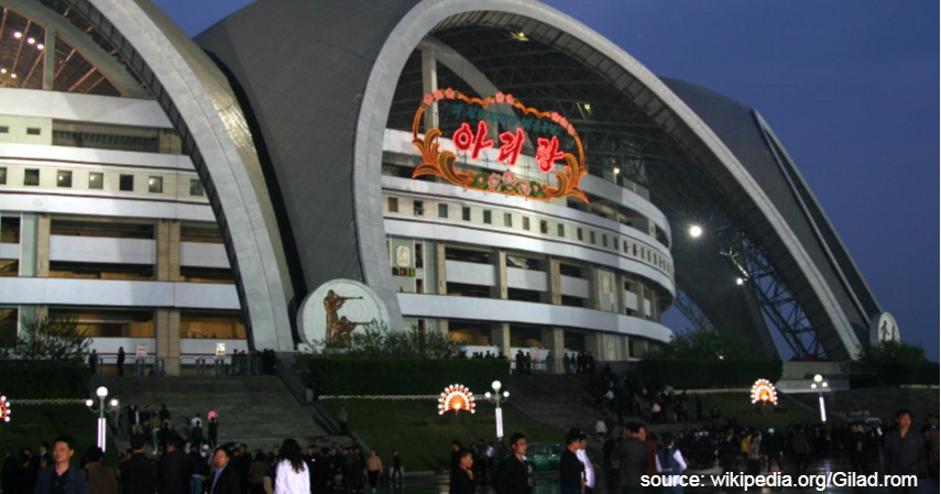 Rungrado May Day Stadium Korea Utara - 9 Stadion Sepak Bola Terbesar di Dunia
