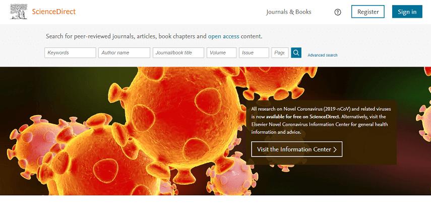 Sciencedirect - 10 Situs Jurnal untuk Skripsi bagi Kamu Para Pejuang Semester Akhir