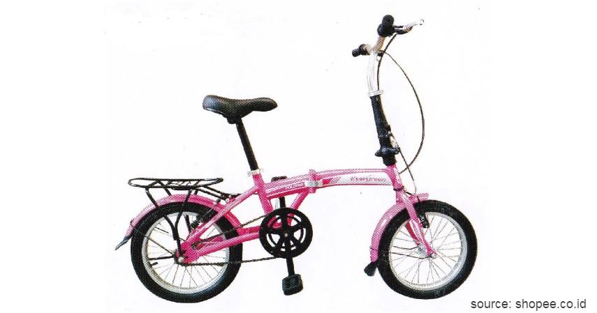 Sepeda Lipat Evergreen Folding Bike - Ini Harga Sepeda Lipat Terbaru 2020 yang Murah dengan Kualitas Jempolan