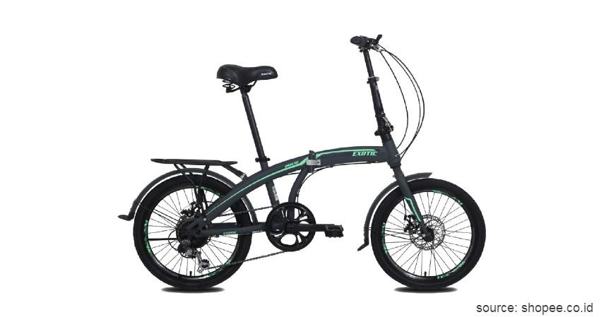 Sepeda Lipat Exotic 2026 MT - Ini Harga Sepeda Lipat Terbaru 2020 yang Murah dengan Kualitas Jempolan