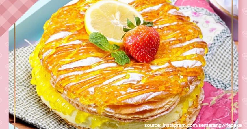 Semarang Wife Cake - 10 Oleh Oleh Khas Semarang Dari Yang Tradisional Sampai Kekinian