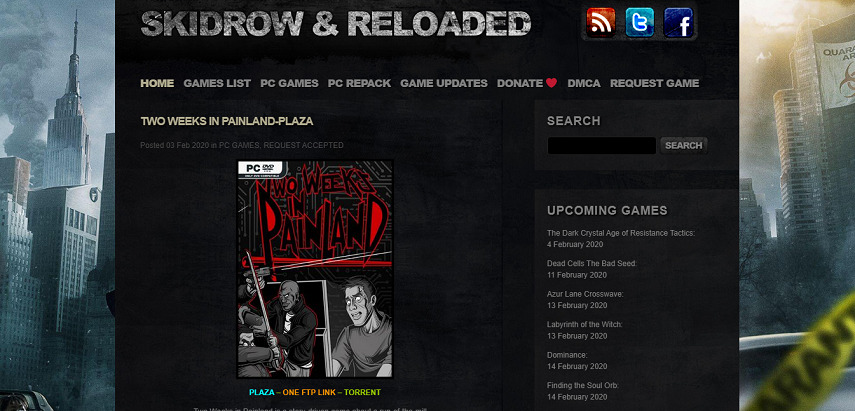 Skidrow Reloaded - 15 Situs Download Game PC Dari Game Lawas hingga Game Indie