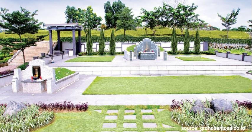 Taman Memorial Graha Sentosa - Ini Tempat Pemakaman Mewah Lainnya