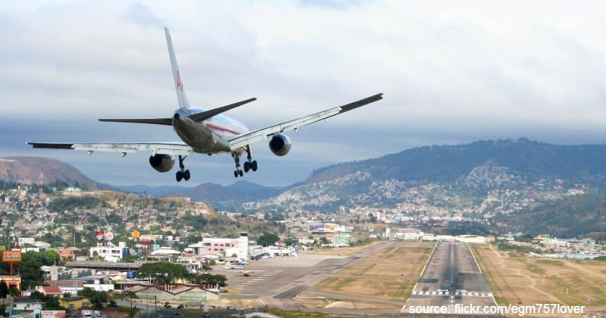 Toncontin Airport Honduras - Mengulas Lengkap 7 Bandara Paling Berbahaya di Dunia