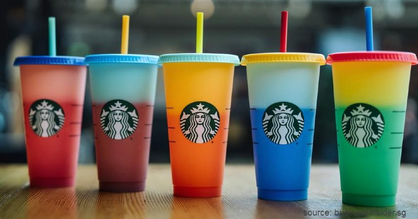 Tumbler Starbuck Changing Color - Tumbler Starbucks Paling Hits dan Paling Banyak Dicari 2020