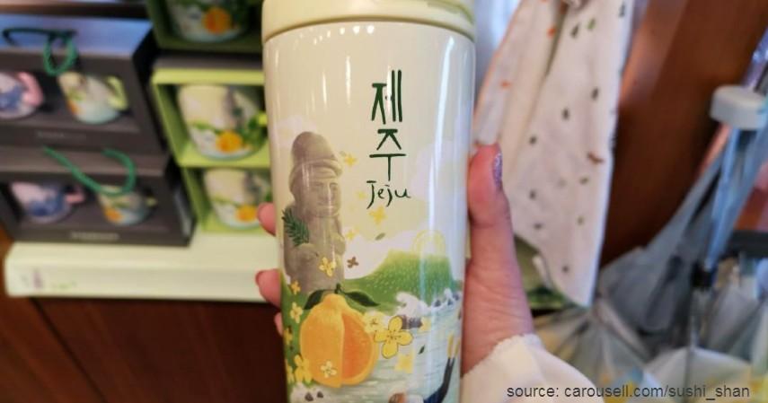 Tumbler Starbuck Jeju Korea City Series - Tumbler Starbucks Paling Hits dan Paling Banyak Dicari 2020