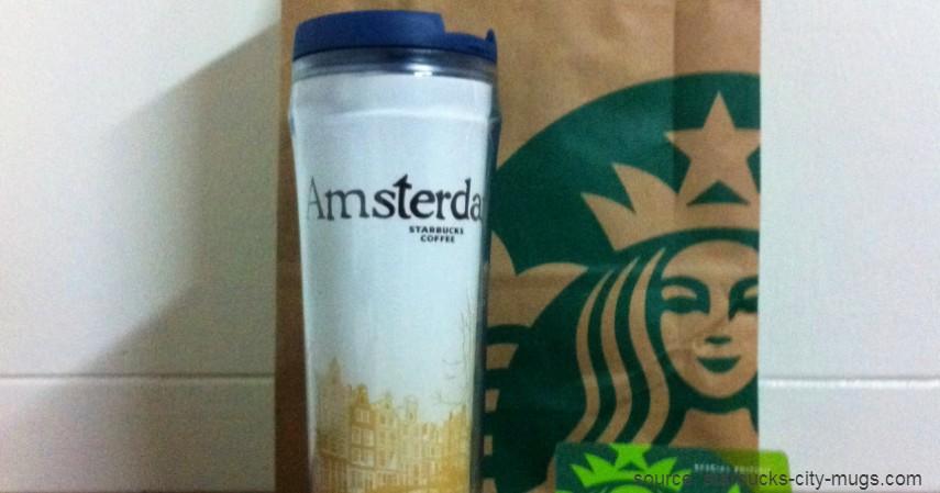 Tumbler Starbucks Amsterdam City Series - Tumbler Starbucks Paling Hits dan Paling Banyak Dicari 2020